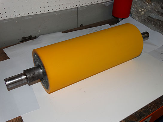 Polyurethane Roller Refurbish