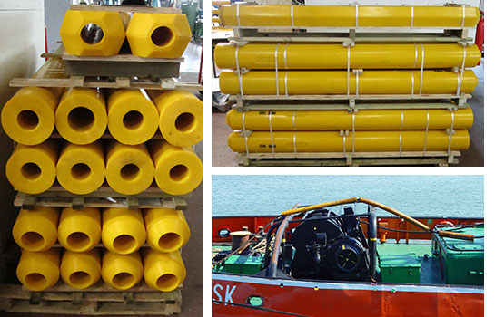 Polyurethane Rope Protectors