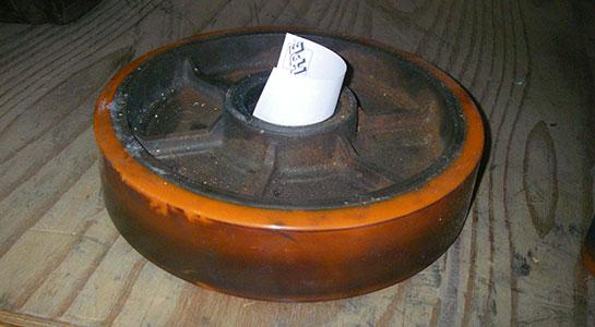 Polyurethane Wheel Refurbishment